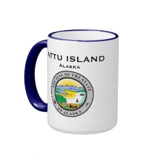 Taza de la isla de Alaska* Attu