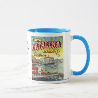 Taza de la isla de Catalina