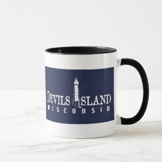 Taza de la isla de los diablos