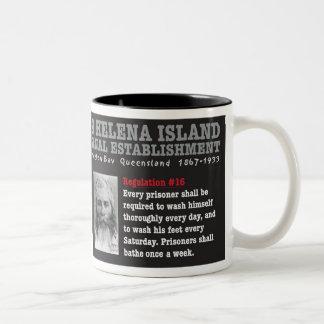 Taza de la isla de St. Helena