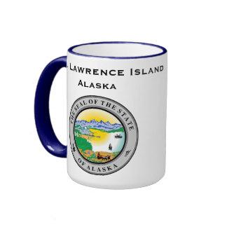 Taza de la isla del St. Lorenzo de Alaska* (Alaska