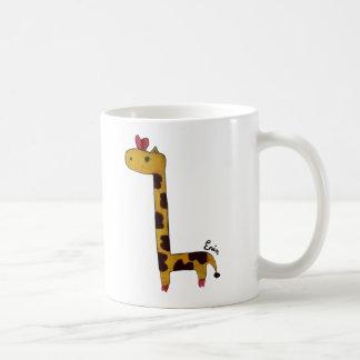 taza de la jirafa