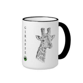 Taza de la jirafa - serie de África
