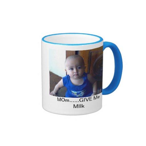 Taza de la leche