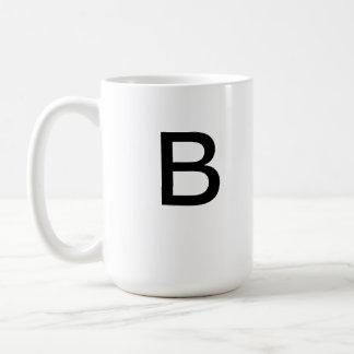 Taza de la letra B