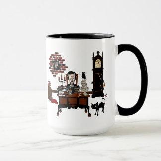 """""""Taza de la locura del Poe"""" Taza"""