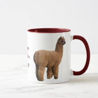 Taza de la magia de la alpaca