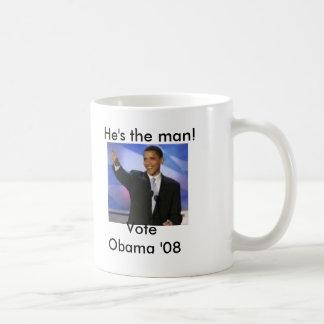 Taza de la magia de Obama '08 del voto