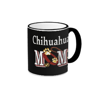 Taza de la mamá de la chihuahua