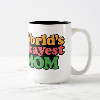 Taza de la mamá de Okayest del mundo