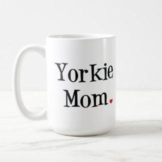 Taza de la mamá de Yorkie