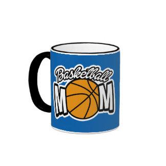 Taza de la mamá del baloncesto