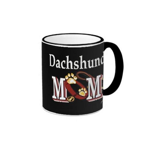 Taza de la mamá del Dachshund