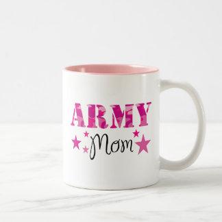 Taza de la mamá del ejército