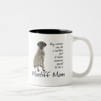 Taza de la mamá del mastín
