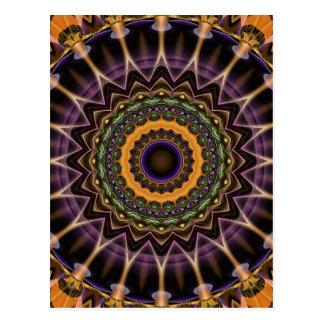Taza de la mandala de la vida creada por Tutti Tarjetas Postales