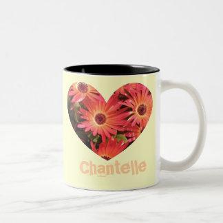 Taza de la margarita de Chantelle