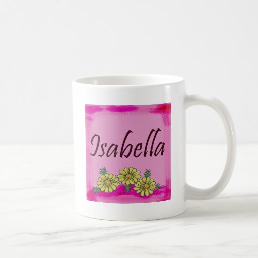 Taza de la margarita de Isabel
