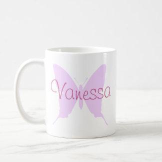 Taza de la mariposa de Vanesa