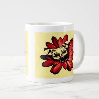 Taza de la máscara de la mariposa taza grande