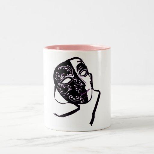 Taza de la mascarada