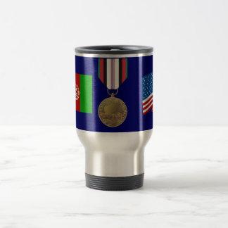 Taza de la medalla de la campaña de Afganistán