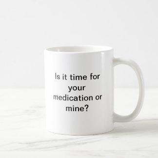 Taza de la medicación