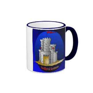 taza de la medieval-fortaleza