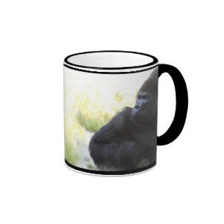 Taza de la mirada del gorila