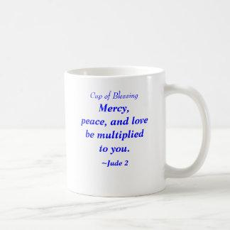 Taza de la misericordia, de la paz y del amor