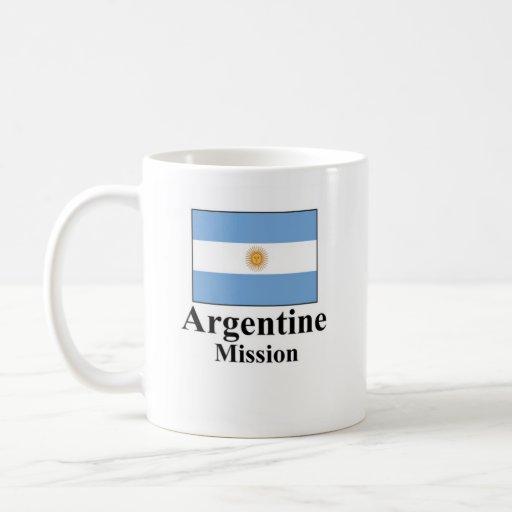 Taza de la misión de Argentina