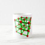 Taza de la molécula del carbono