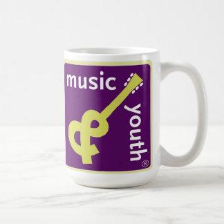 Taza de la música y de la juventud