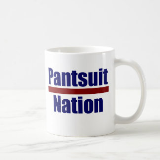 Taza de la nación del Pantsuit