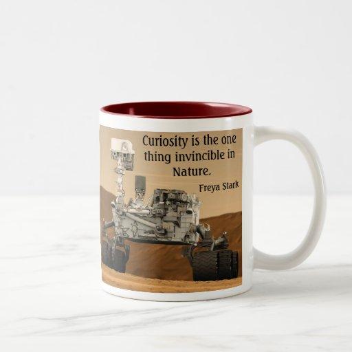 Taza de la NASA de Marte Rover de la curiosidad