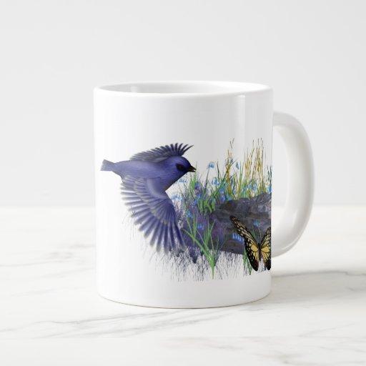 Taza de la naturaleza taza grande