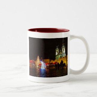 taza de la noche de navidad del rague