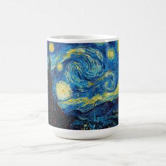 Taza de la noche estrellada de Van Gogh