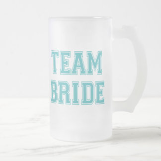 Taza de la novia del equipo