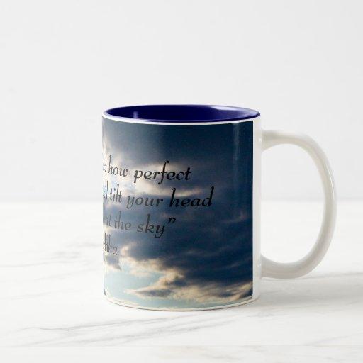 taza de la nube