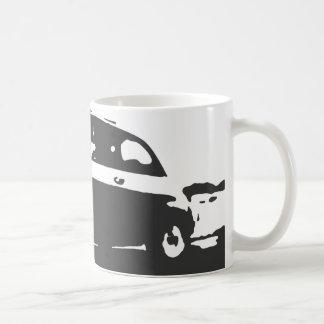 Taza de la obra clásica de Fiat 500 - blanco en