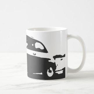 Taza de la obra clásica de Fiat 500 - ennegrézcase