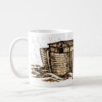 Taza de la obra clásica de la arca de Noah