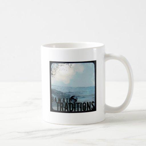 Taza de la obra clásica de la foto de la playa del