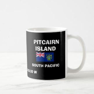 Taza de la obra clásica de Pitcairn Island*
