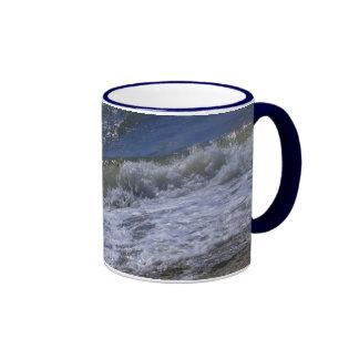 Taza de la orilla de mar