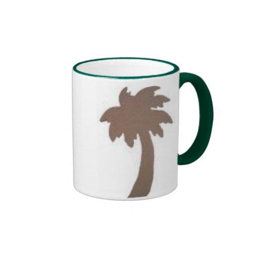 Taza de la palmera