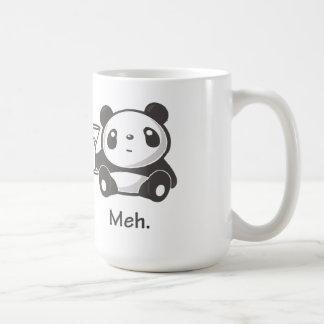 Taza de la panda de Meh