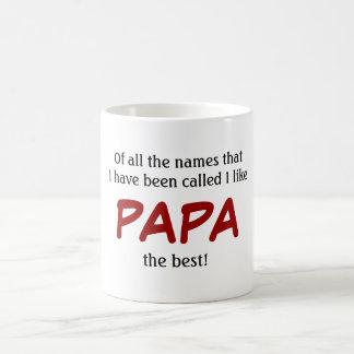 Taza de la PAPÁ