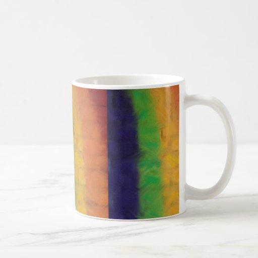 Taza de la pared del arco iris